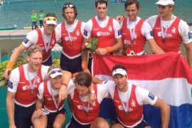 Holland acht wint brons!