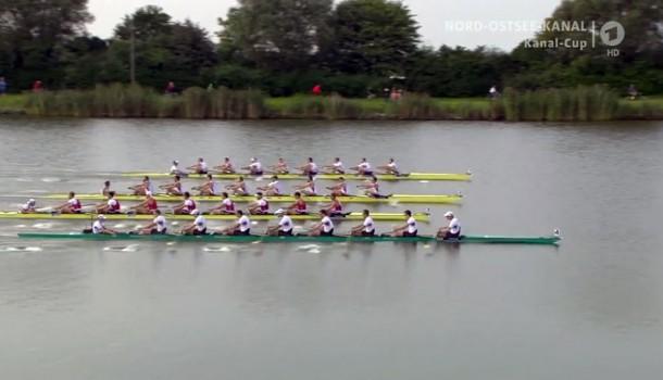 'Holland Acht' derde bij Kanal Cup