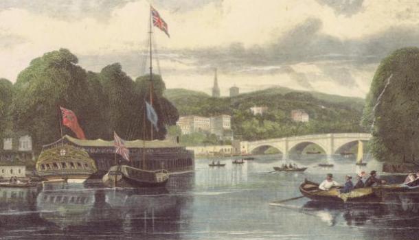 Vakmanschap aan de Thames