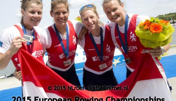 Vrouwen dubbelvier pakt brons in Luzern