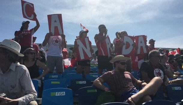 Liefhebbers bevolken tribunes in Rio