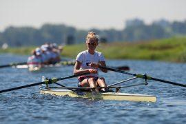 Karolien Florijn wint brons na goede eindsprint