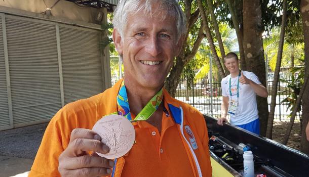 Boudewijn Röell: 'Fucking blij met brons'