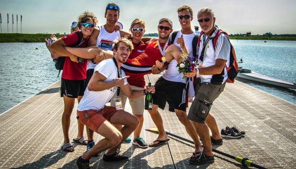 Wereldkampioen Niels van Zandweghe werkt bakken vol frustratie weg