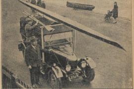 Transportprobleem skiffeur Phelps 89 jaar geleden opgelost