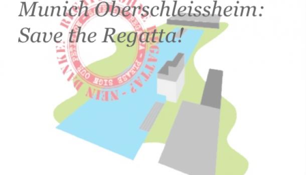 Nederlanders maken zich druk om roeibaan in München