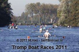 Groen licht voor Tromp Boatraces: roeien en wegwezen