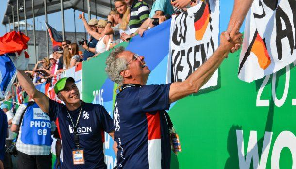 """[Roei!] Gouden coach Diederik Simon: """"Ik heb de schurft aan meefietsen"""""""