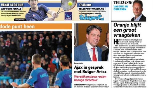 'Arisz naar Ajax'