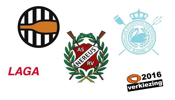 Welke vereniging heeft de favoriete eerstejaarsploeg: Nereus, Laga, Njord of Gyas?