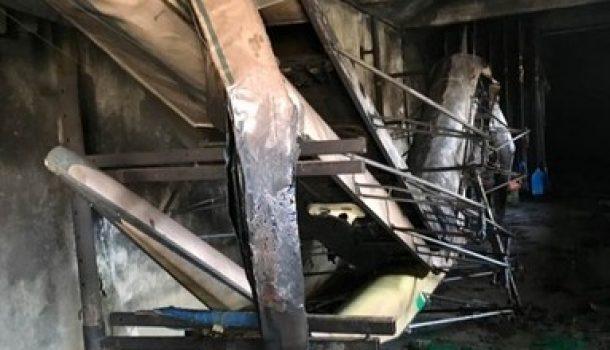 Brand vernielt Italiaanse roeivereniging