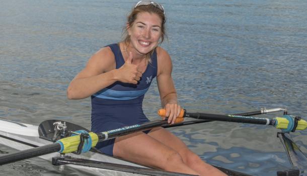 Lichte kampioene Zoe McBride boekt ook succes als zwaargewicht