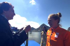"""Chantal Achterberg: """"Cadeautjes worden niet gegeven, zeker niet in olympische finales"""""""