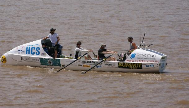 Team Tuijn haalt oversteek naar Zuid-Amerika