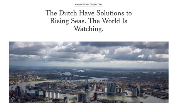 Duurzame Willem-Alexander Baan haalt  New York Times