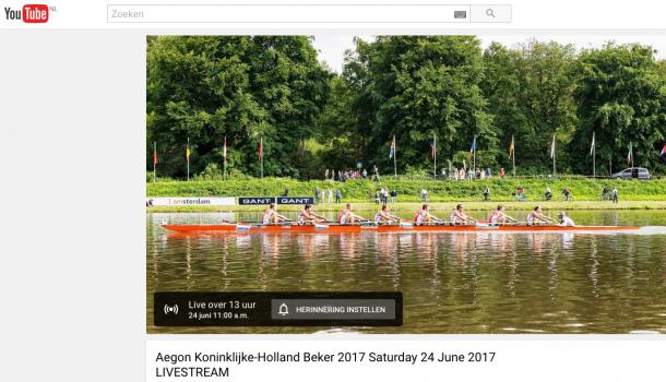 Holland Beker live in beeld