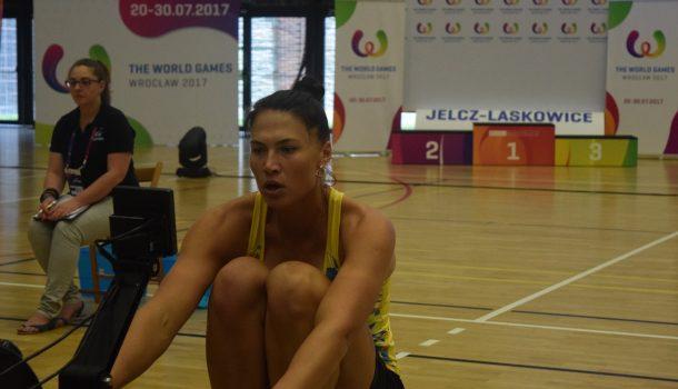 Oekraïnse Olena Buryak scherpt ergorecords aan