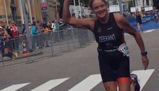 Marijke Zeekant wereldkampioen triatlon