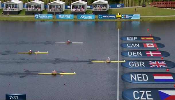 WK: Lisa Scheenaard haalt a-finale!