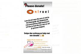 Update: € 6.000 grens gepasseerd, doe als Niki van Sprang en doneer ook!