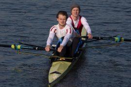 Visser/Janssen en Rienks/Rienks snelsten bij Winterwedstrijden