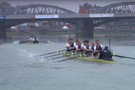 164e Boat Race: Cambridge niet bij te houden door Oxford