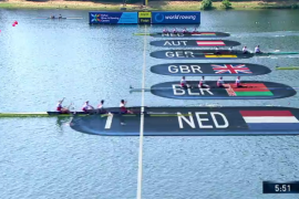 Nederlandse tweede vier wint verrassend goud