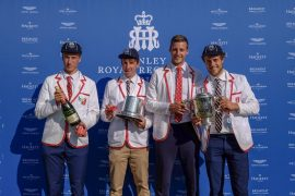 Uitgetrainde meetrainers winnen Henleycup:  'dubbelvier was beste optie'