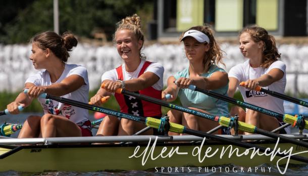 JuniorenWK: Meisjesvieren in A-finale, dubbelvier kan verrassen