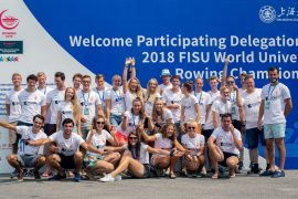 Roeien terwijl u slaapt: world university championships