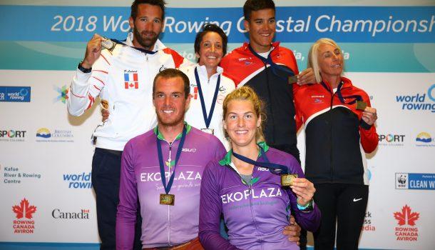 Steenman dubbel kustroeikampioen: 'weekeinde kon niet beter'