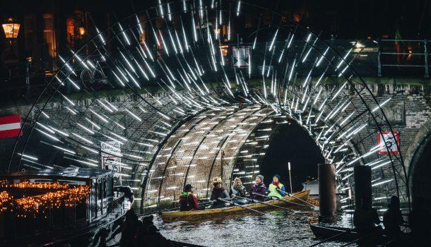 [promotie] Roei mee met de Amsterdam Lightfestival toertocht