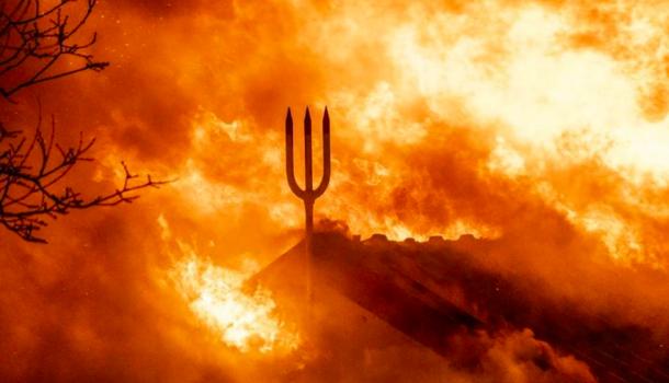 Voorzitter Neptunus: 'Het is extra wrang dat de brand is aangestoken'