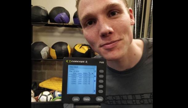 Simon van Dorp nadert wereldrecord tot op seconde: 5:36,4 (!)