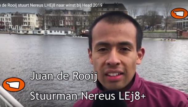 NLroei.TV Stuurman De Rooij (Nereus): 'bochten afsnijden helpt'