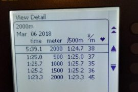 Van Dorp flink sneller dan Nederlands record: 5:39,1
