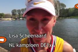 NLroeiTV: Lisa Scheenaard en Ilse Paulis skiffkampioen