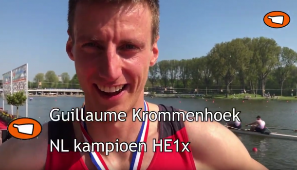 NLroeiTV: skiffkampioenen Guillaume Krommenhoek en Obbe Tibben