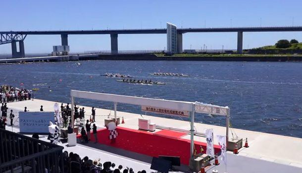 Olympische baan van Tokyo geopend
