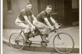 Gezocht, twee mannen om record op tandem te breken: 117,6 km/uur