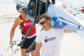 Van Sprang/Keijser blijven dubbel, Broenink in skiff naar WK