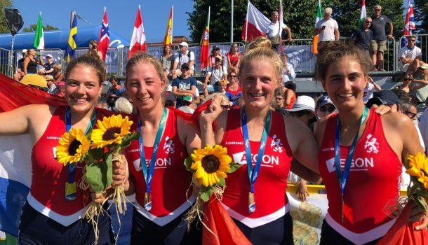 Coupe: medailles in drie kleuren