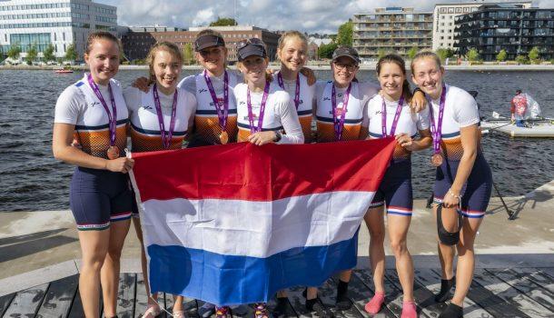 Zeven medailles voor Nederland bij EUC in  Zweden