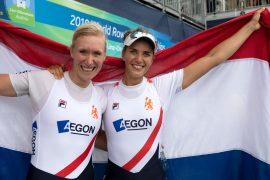 Brons voor De Jong en Scheenaard!