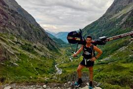 Brit laat ergometer op Mont Blanc achter