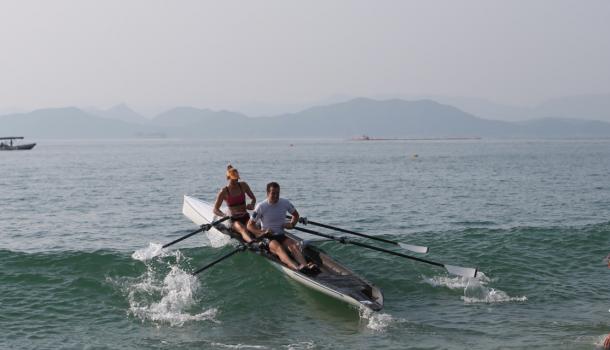 Brons voor Steenman/Van der Meulen bij Chinese strandsprint