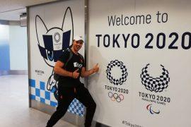 Medailleploegen bezoeken Tokyo