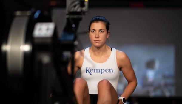 Ilse Paulis in prima olympische vorm