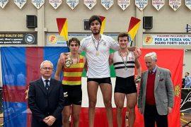 Italiaanse junior beestachtig snel op Concept2: 5:45,5