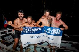 Britten winnen Atlantic Challenge